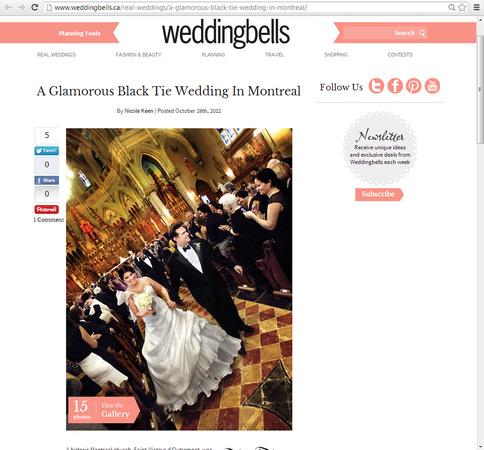 Jon & Fojan - Weddingbells Blog October 2012