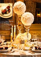 Elegant Wedding Magazine Editorial by Badger Photography