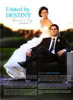 Real Wedding Featured in Elegant Wedding Magazine